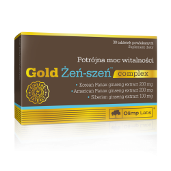 Olimp - Gold Żeń-Szeń Complex - 30tabs