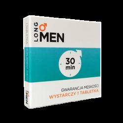 Long Men - Gwarancja Męskości - 1 tabletka