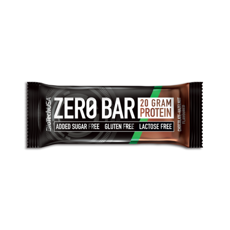 BioTech Usa - Zero Bar 50g - Hazelnut