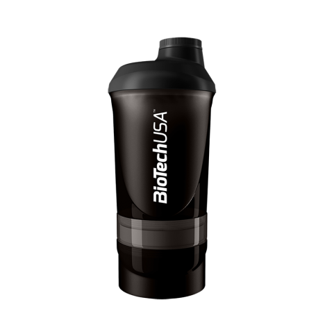 BioTech Usa - Shaker Wave++ 600ml - Black