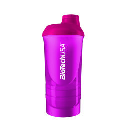BioTech Usa - Shaker Wave++ 600ml - Magenta