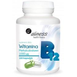 Aliness - Witamina B12 - 100kaps