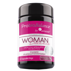 Aliness - ProbioBalance WOMAN 20mld - 30caps