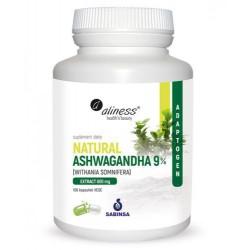 Aliness - Natural Ashwagandha 9% - 100caps