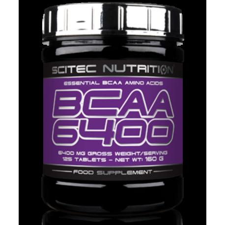 Scitec Nutrition | Bcaa 6400 | 125tabs