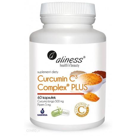 Aliness - Curcumin C3 Complex Plus - 60caps