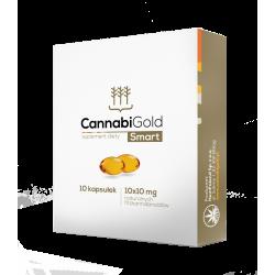 CannabiGold - Smart PL 10mg - 10kaps