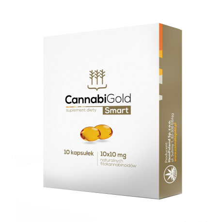 CannabiGold - Smart PL 10mg - 10kaps
