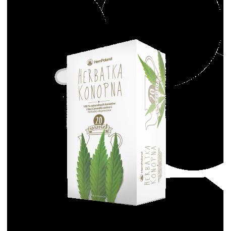 CannabiGold - Herbata Konopna - 40g