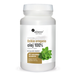 Aliness - Dzikie Oregano Olej 100% - 90caps