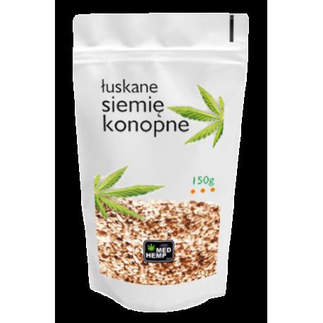 Med Hemp - Siemię konopne łuskane - 150g