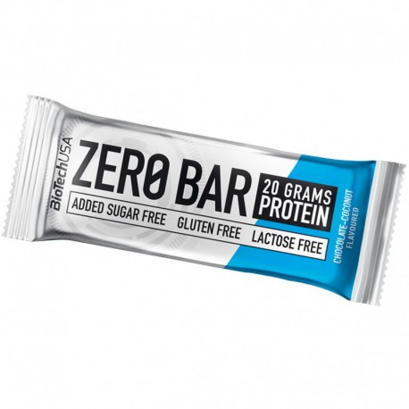 BioTech Usa - Zero Bar 50g - Coconut