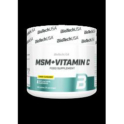 BioTech Usa MSM + Vitamin C 150g