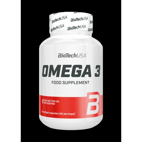 BioTech USA | Omega 3 | 90caps