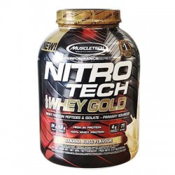 MuscleTech - NITRO Tech Whey Gold - 2490g
