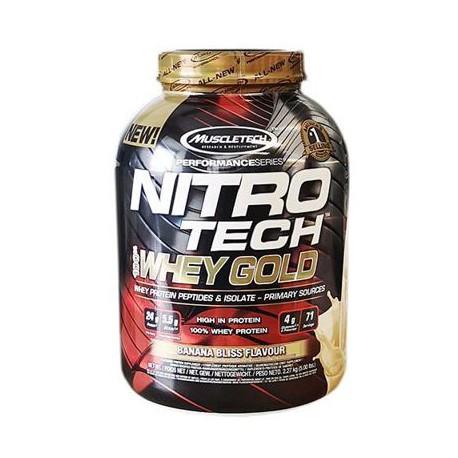 MuscleTech - NITRO Tech Whey Gold - 2490g
