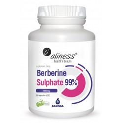 Aliness - Berberine Sulphate 99% 400mg - 60caps