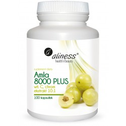 Aliness - Amla 8000 Plus - 100caps