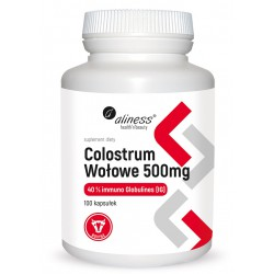 Aliness - Colostrum Wołowe - 100caps