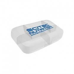 Scitec - Pillbox Logo Scitec - White