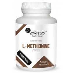Aliness - L-Methionine 500mg - 100caps