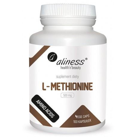 Aliness - L-Methionine 500mg - 100caps