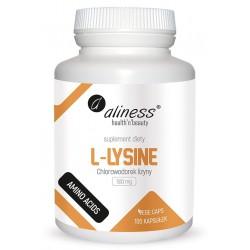 Aliness - L-Lysine 500mg - 100caps