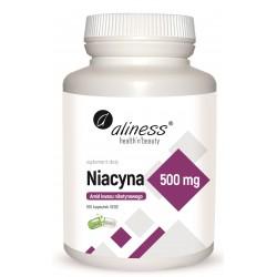 Aliness - Niacyna 500mg - 100kaps