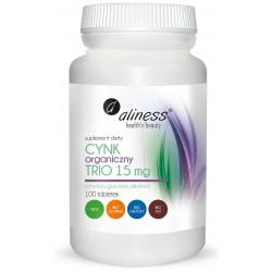 Aliness - Cynk Organiczny Trio 25mg - 100tabs