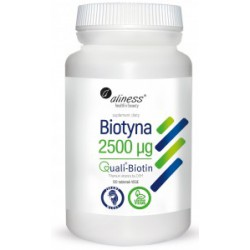 Aliness - Biotyna 2500µg - 120caps