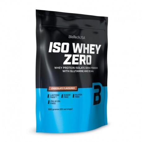 BioTech USA   Iso Whey Zero   Whey Protein Isolate   500g