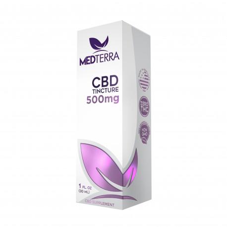 MedTerra - CBD Tincture 500mg - 30ml
