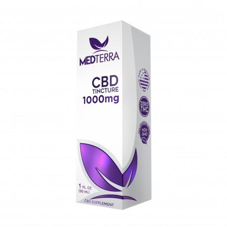 MedTerra - CBD Tincture 1000mg - 30ml