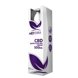 MedTerra | CBD Topical Cream 500mg | 50ml