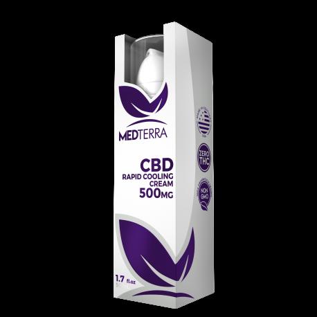 MedTerra | CBD Topical Cream 500mg | 50ml