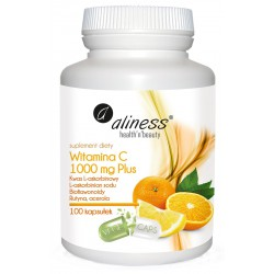 Aliness - Witamina C 1000mg  Plus - 100kaps VEGE