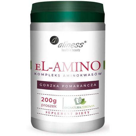 Aliness - EL-Amino 250g - Pomarańcza