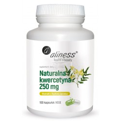 Aliness | Naturalna Kwercetyna 250g | 100kaps