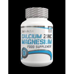 BioTech Usa - Calcium Zinc Magnesium - 100tabs