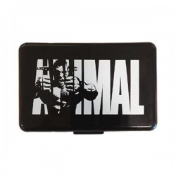Universal - Animal PillBox - Black/White
