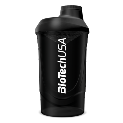 BioTech USA | Shaker Wave Black | 600ml