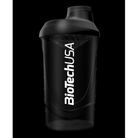 BioTech Usa - Shaker Wave 600ml - Black
