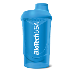 BioTech Usa - Shaker Wave 600ml - Blue