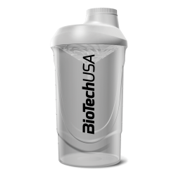 BioTech Usa Shaker Wave 600ml/White