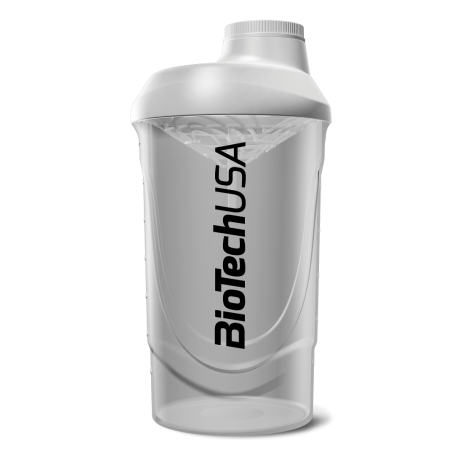 BioTech USA | Shaker Wave White | 600ml