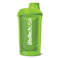 BioTech Usa Shaker Wave 600ml/Green