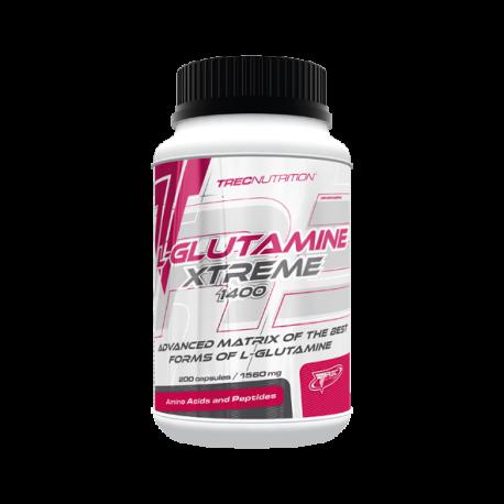 Trec - L-Glutamine Xtreme 1400 - 200caps