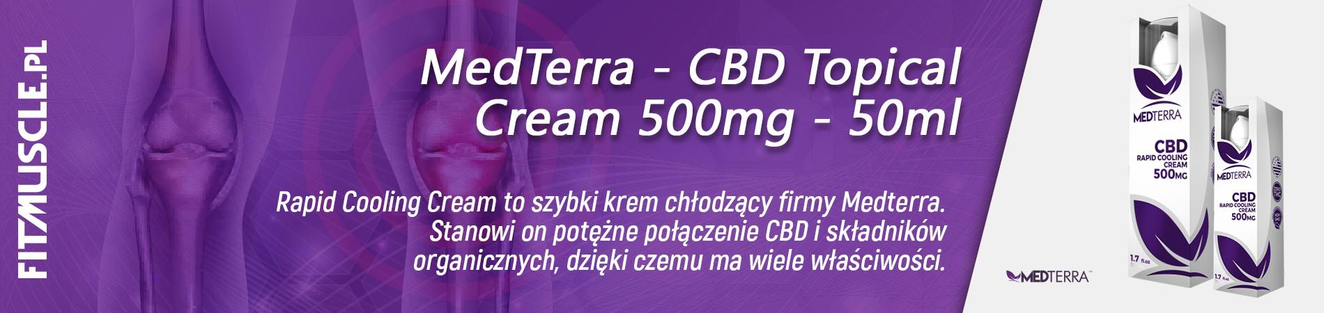 MedTerra   CBD Sport Cream   50ml