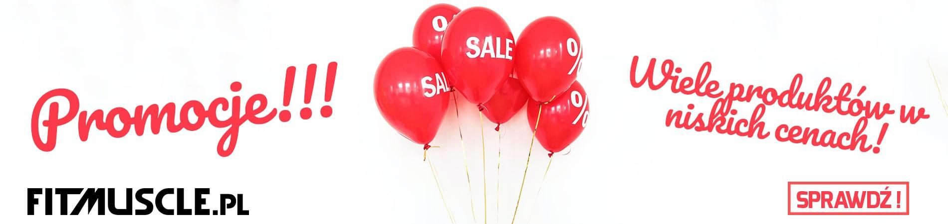 Promocje | Aktualne oferty promocyjne w najlepszym sklepie z odżywkami | FiT Muscle PL