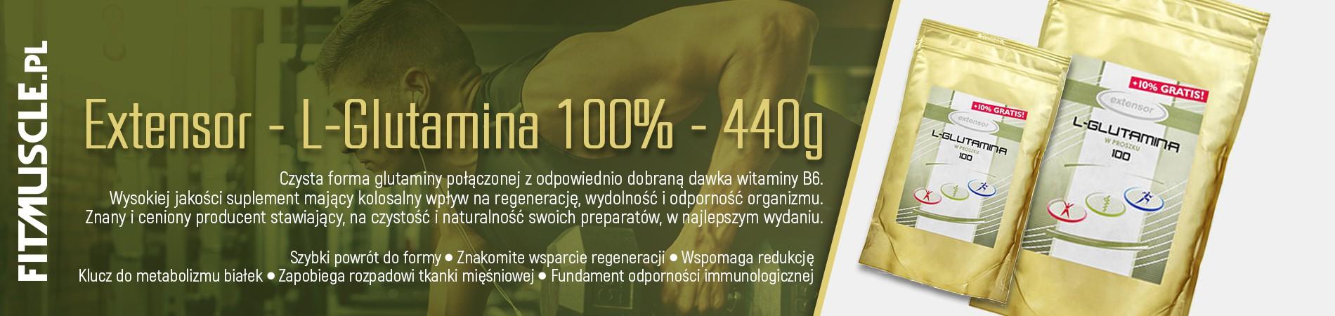 Extensor - Glutamina - 440g